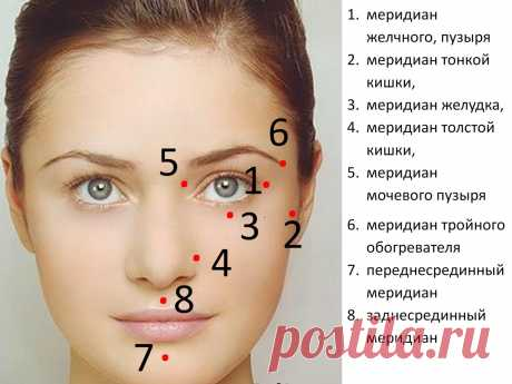 Эти 8 точкек на лице расскажут о здоровье внутренних органов  Прежде чем читать эту статью, предлагаю вам подойти к зеркалу и внимательно рассмотреть свое лицо. Где сосредоточены наиболее глубокие морщины? По этой картинке вы сможете сделать точную диагностику …