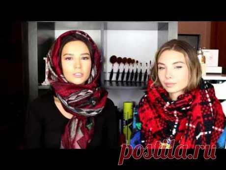 ¿Cómo atar hermosamente la bufanda?