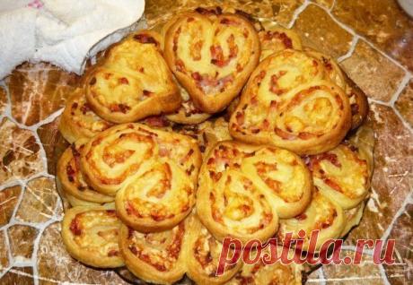 Оригинальное печенье-закуска с мясом. На вид и вкус просто потрясающее! | Самые вкусные кулинарные рецепты