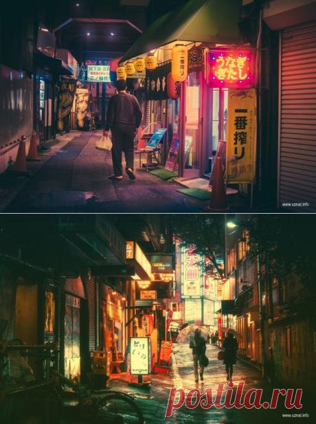 Сказочный Токио ночью (15 фото)