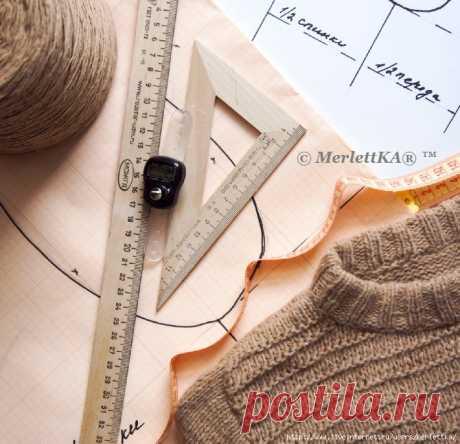 Вязание спицами - Окаты и проймы