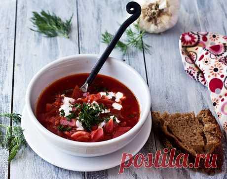 Tasty recipe of fast borsch | Tasty recipes
