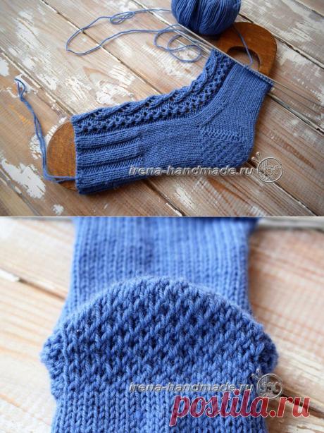 Пятка «подкова» (вязание, схемы и фото) - Irena Handmade
