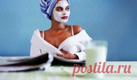 Сделай маску вечером, и утром ты застынешь перед зеркалом! Где же морщинки….