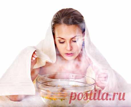 Правила выполнения паровых ванночек для лица