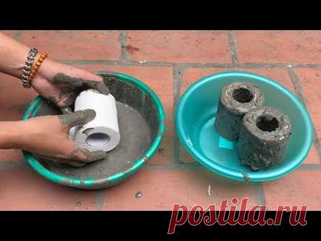 Awesome Life Hacks - Making an Aquaterrarium with Toilet Paper Rolls
