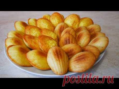 Рецепты кокосового печенья МАДЛЕН  и постное печенье БЕЗ ЯИЦ
