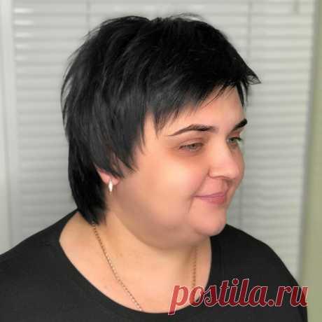 Стильные стрижки и прически для полных женщин | ladyline.me | Яндекс Дзен