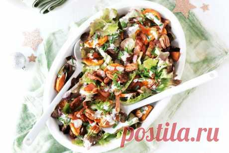 Sweet potato salad with buttermilk dressing