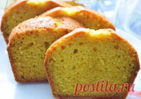 Сочный апельсиновый кекс. Рецепт и пошаговые фото Наташи Чагай.