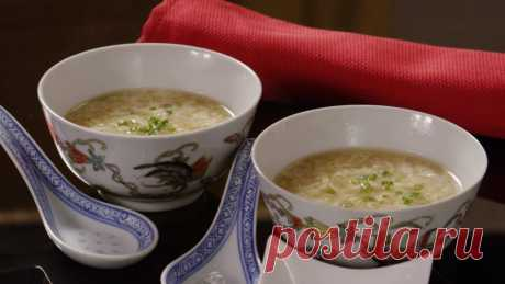 She poured in the shaken-up egg in soup … Did not know that it is so tasty!   Oh, damn
