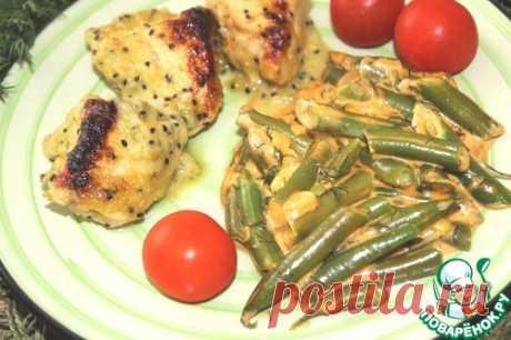 Курица под сливочным соусом с киви – кулинарный рецепт