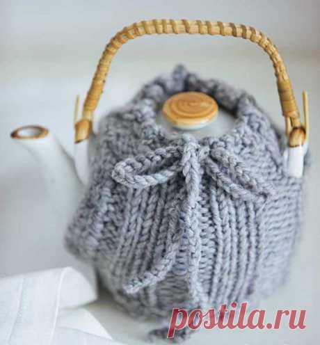Грелка на чайник - схема вязания спицами. Вяжем Все для дома на Verena.ru