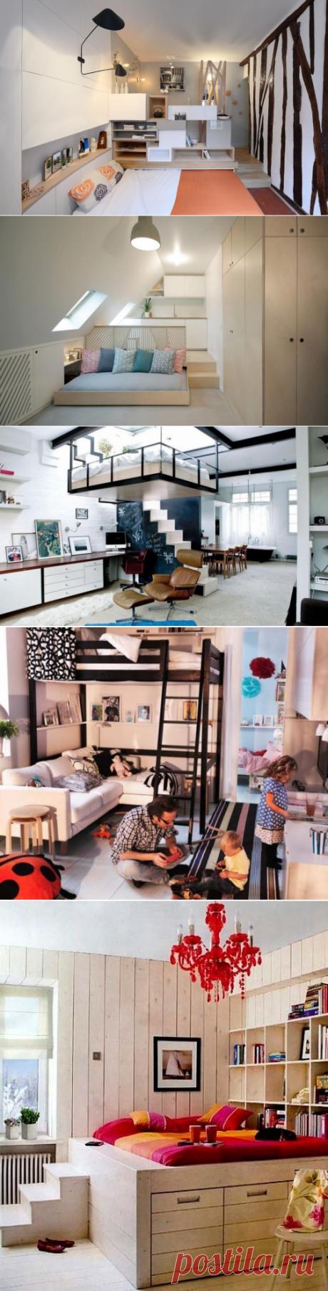 Варианты кроватей для небольших квартир — Правильные идеи ремонта