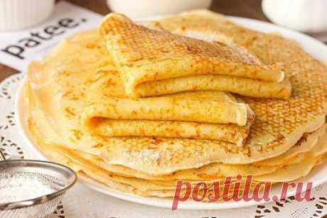 Сырные блины - рецепт с фотографиями