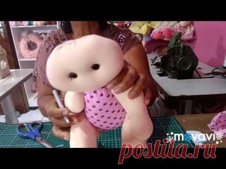 BONECA DE PANO BEBÊ , FAÇA E VENDA MOLDE GRÁTIS ❤️