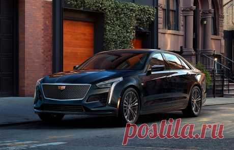 седан Cadillac CT6 2019 - цена, фото, технические характеристики, авто новинки 2018-2019 года