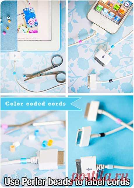 Термомозаика на кабеле