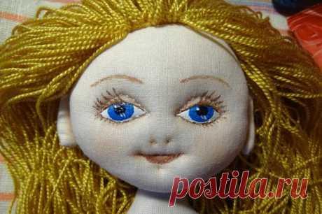 Как сшить красивую куклу текстильную, интерьерную, большеножку, вальдорфскую своими руками