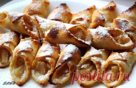 Творожное печенье с грушей