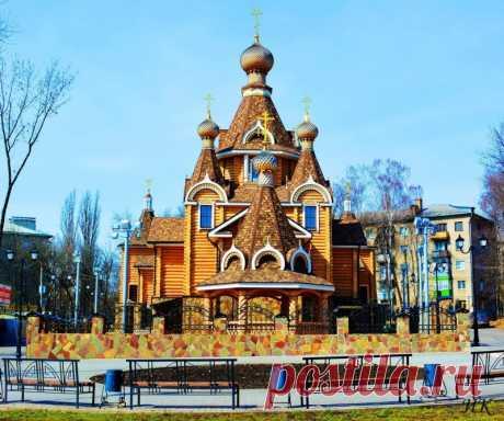 Храм Вознесения Господня, Воронеж — Путешествия