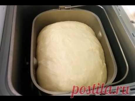 Сдобное воздушное тесто для булочек пирожков рулетов пирогов и др в хлебопечке Panasonic SD-255