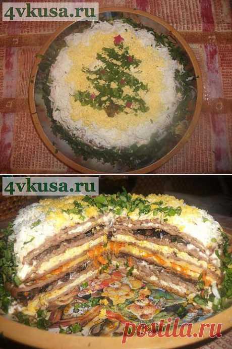 Печеночный тортик | 4vkusa.ru