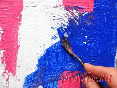 История о том, как я научилась рисовать мастихином. | Хобби Фани. | Яндекс Дзен