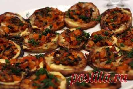 Отличная закуска: баклажаны по-гречески — Готовим дома