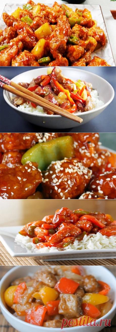 Свинина в кисло-сладком соусе по-китайски - рецепты как в ресторане