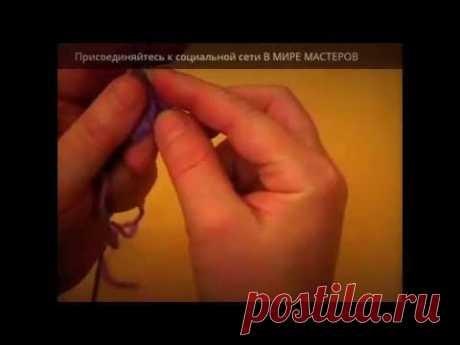 Вязание спицами. Энтрелак часть 1