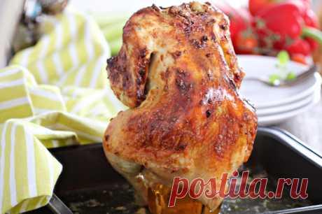 Курица на банке - рецепт с пошаговыми фото и отзывами / Меню недели