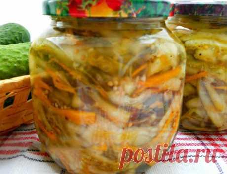 Салат из огурцов по-корейски - Мой сад