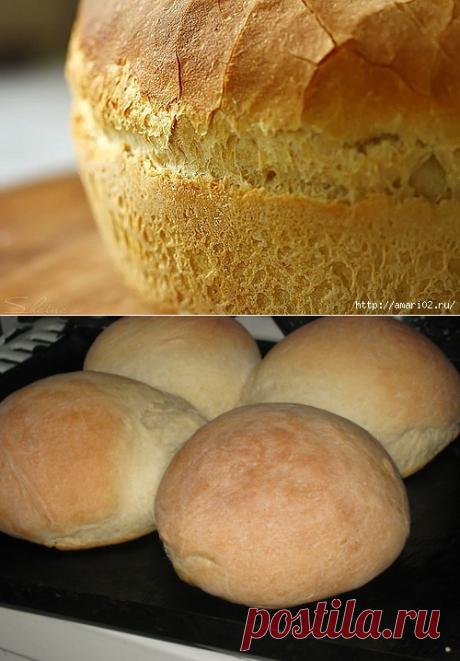 Рецепты вкусного домашнего хлеба | Четыре вкуса