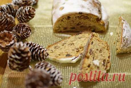Такая вот Германия Рождественский штоллен: история немецкого праздничного пирога