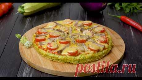 Вкуснейшая кабачковая пицца