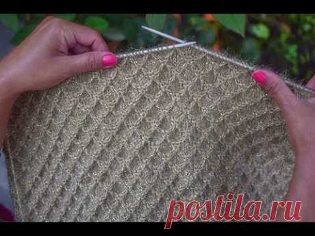 New Sweater Design - Knitting Pattern