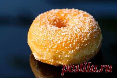 Самые простые пончики на сковороде | Кастрюлька | Яндекс Дзен