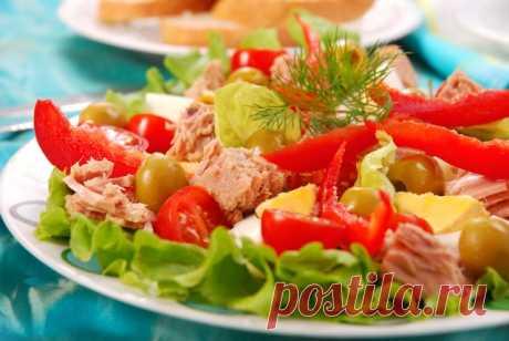 6 белковых салатиков для исключительно правильного ужина Питаться нужно правильно!