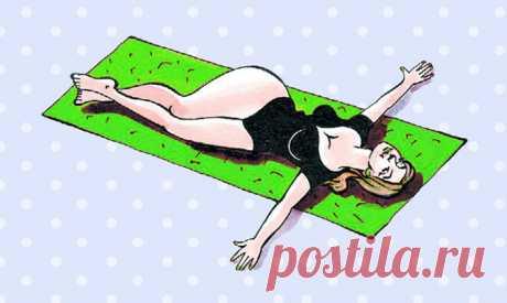 5 эффективных упражнений от боли в спине. Сразу же почувствовала себя лучше!