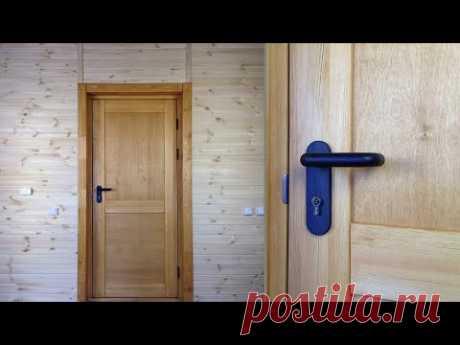✅ Утепленная входная  дверь из дерева | Front door | Hauseingangstür