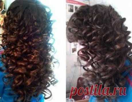 Elastic curls for all day, as from salon! We twist house hair