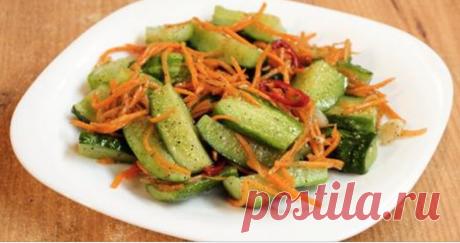 Изумительные огурцы по-корейски — это то блюдо, которым можно удивлять Сочные, хрустящие, ароматные, красивые: даже не хватает слов, чтобы описать потрясающе вкусное блюдо