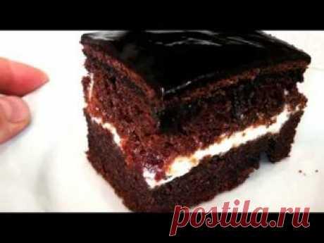 Самый влажный и пышный бисквит для ленивых!The moist and lush cake for lazy!