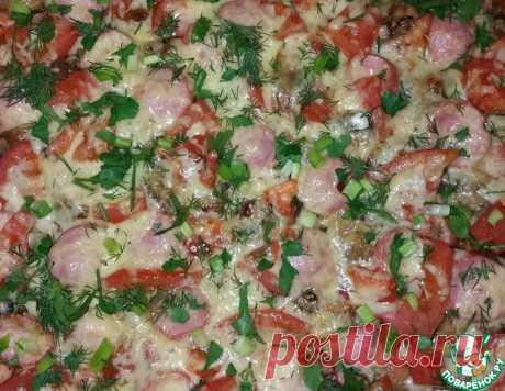 """Пицца """"Все в восторге"""" – кулинарный рецепт"""