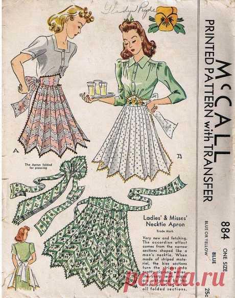 Necktie apron, 1941 | Flickr - Photo Sharing!