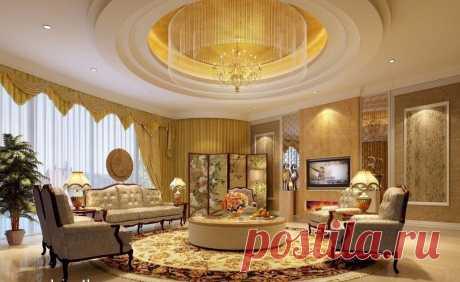 Красивый дизайн потолка