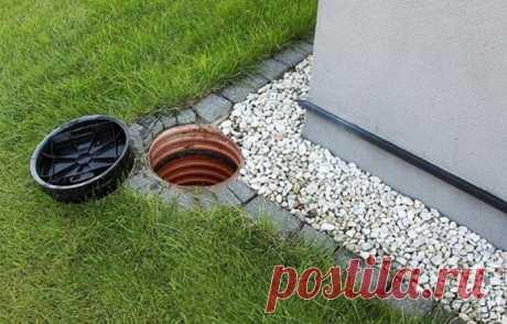 Как сделать дренаж вокруг дома для отвода воды правильно?
