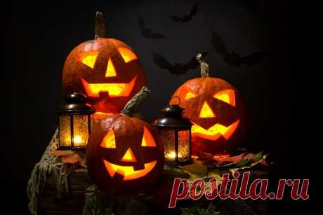 Картинки с Хэллоуином и тыквой (34 фото) ⭐ Забавник