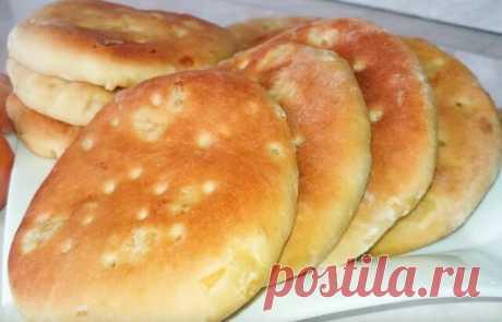 Пышные, воздушные лепёшки в духовке - вкуснее чем магазинный хлеб | О Еде и не только✌ | Яндекс Дзен